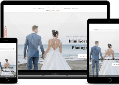Irini Koronaki, Wedding Photographer